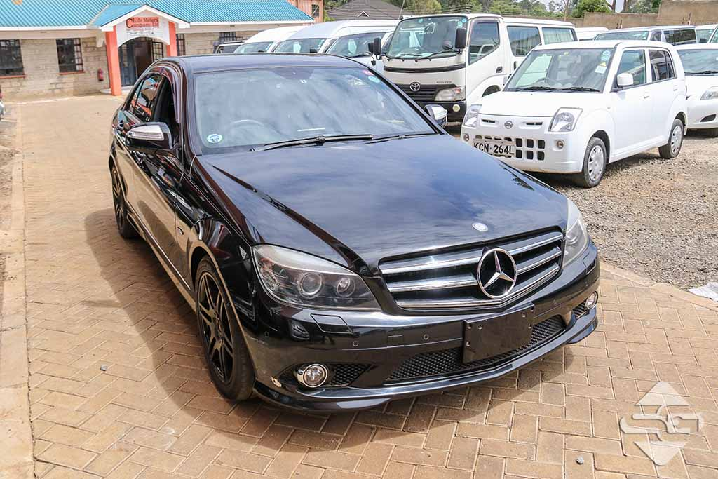 2008 Black Automatic Mercedes-Benz C200 Amg for sale - Spare